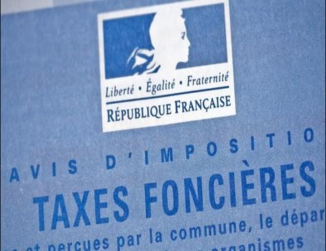 La taxe foncière.