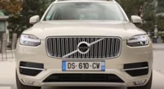 Un SUV Volvo XC90.