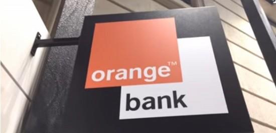 Une banque Orange Bank.