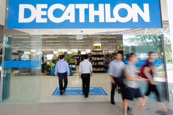 Un magasin Decathlon.