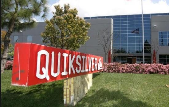 La société Quicksilver aux usa.