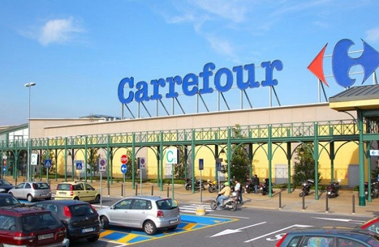 Un magasin Carrefour.