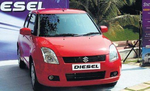Un véhicule diesel.