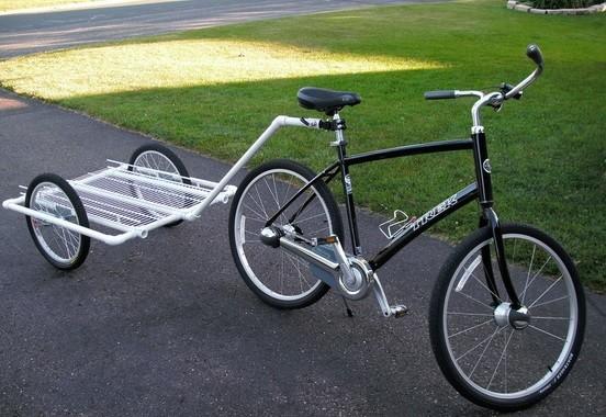 Un vélo équipé.