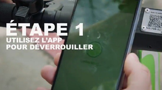L'app de Lime.