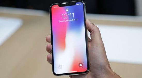Un Iphone X.