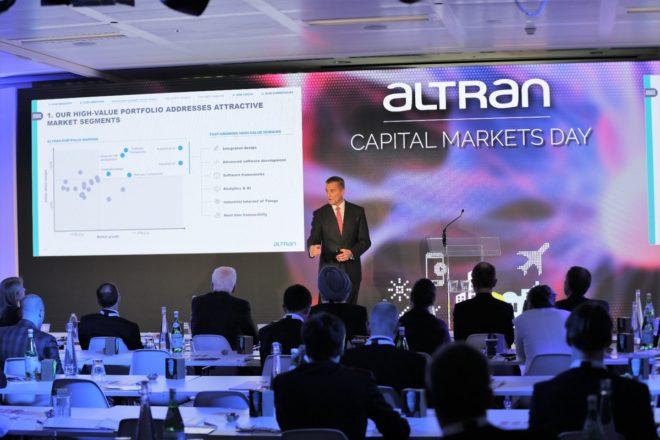 Présenté à Londres le 28 juin, ce plan propose plusieurs axes stratégiques permettant, à terme, de créer un nouveau standard pour le marché des services d'ingénierie et de R&D. Des axes stratégiques sur-mesure La vision 2022 d'Altran se lit à travers le prisme de trois axes stratégiques fondamentaux. Le premier est l'établissement de modèles de […]