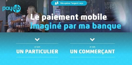 le site de Paylib.