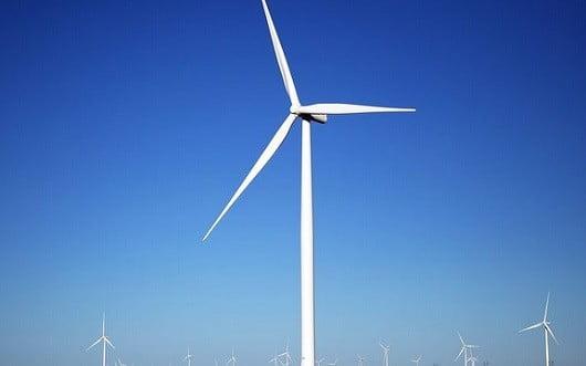 Une éolienne.