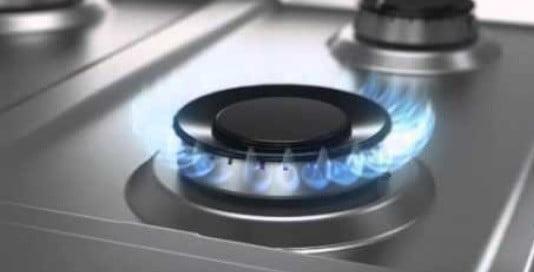 Plaque cuisson au gaz.