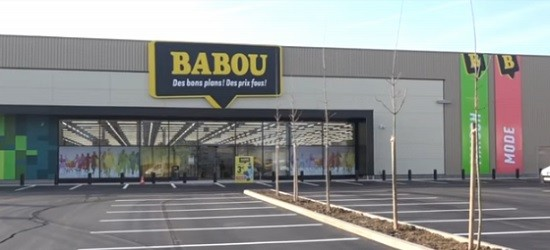 Un magasin Babou.