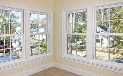 Des fenêtres en double vitrage