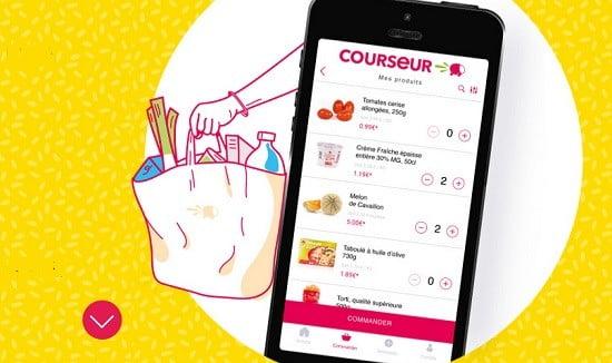Le site 'Courseur'