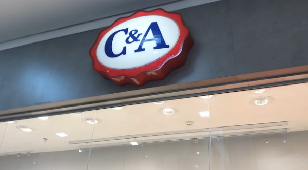 L'enseigne C&A
