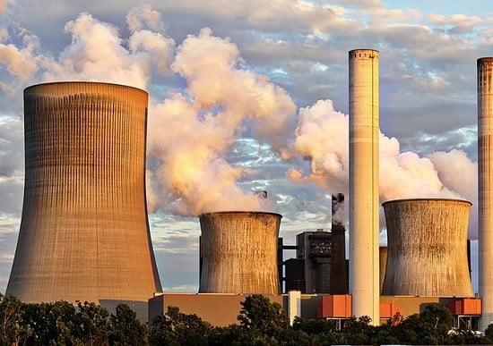 Une centrale électrique