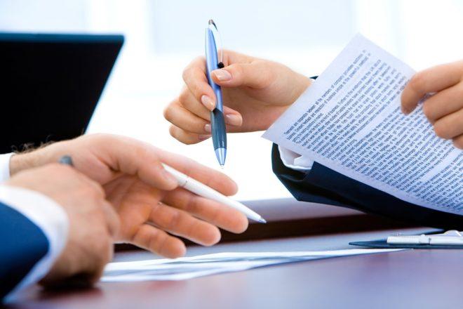 Signature d'un contrat de travail