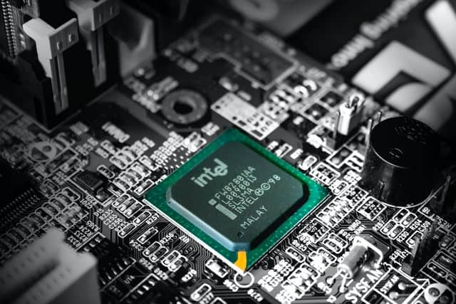 Un processeur de chez Intel.