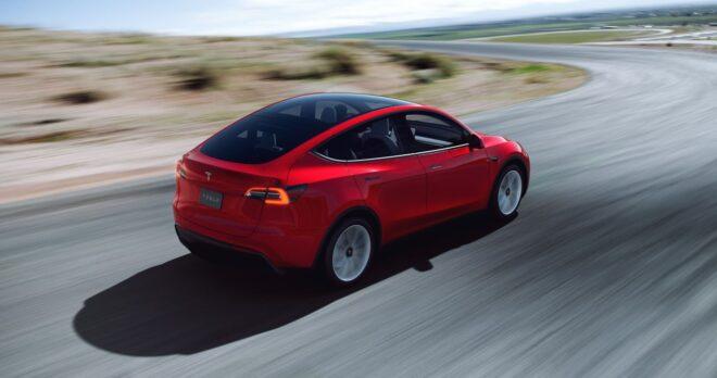 Une Tesla Model Y