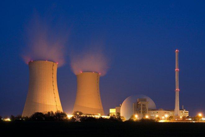Réacteur nucléaire, image d'illustration