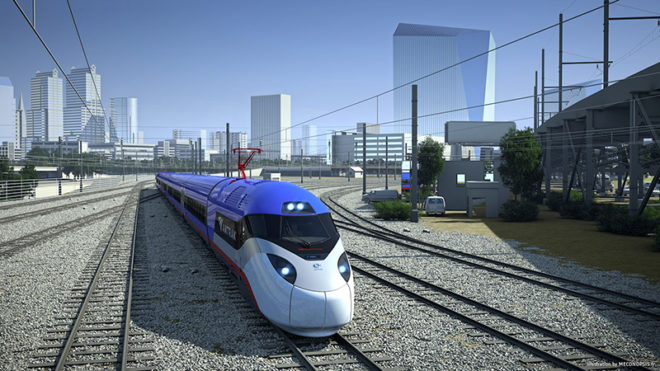 Le train Avelia Liberty d'Alstom