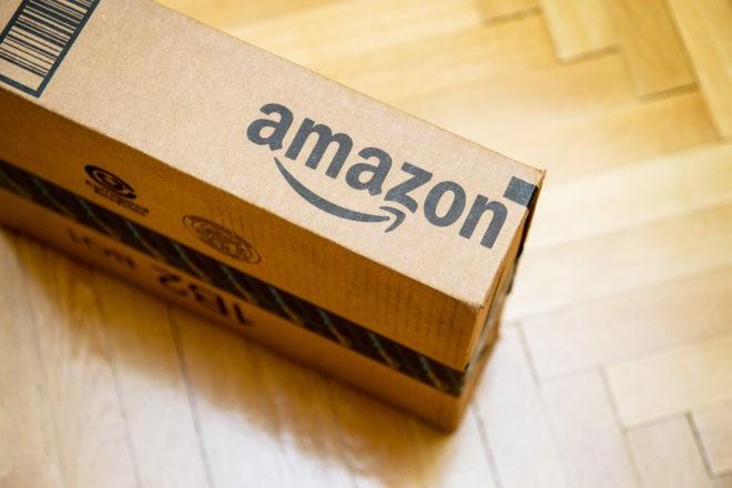 Un colis Amazon