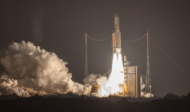 Lancement de satellites par Arianespace