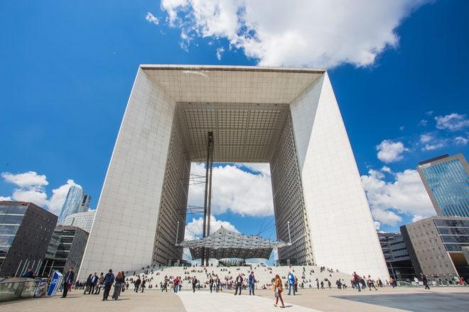 Le quartier de la Défense à Paris. Image d'illustration