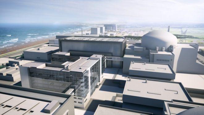 Simulation 3D des réacteurs d'Hinkley Point