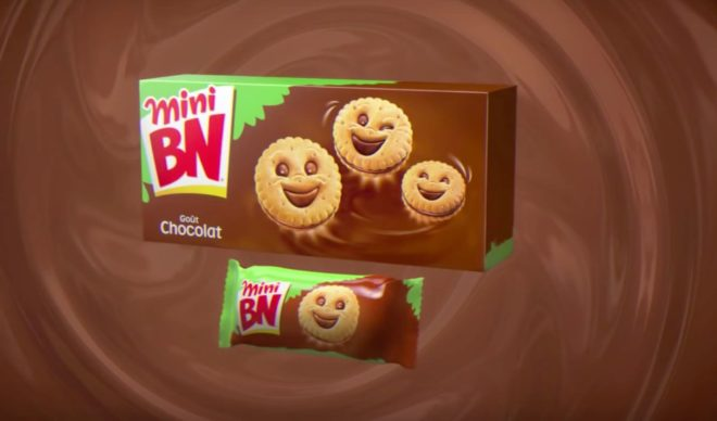 Des biscuits BN