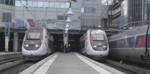 Des TGV.