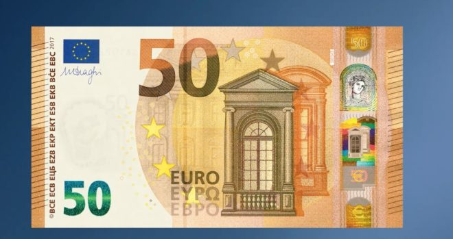 Le nouveau billet de 50 euros, plus sécurisé