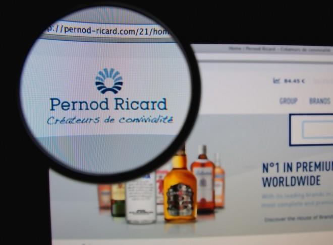 Pernod Ricard publie ses résultats 2016