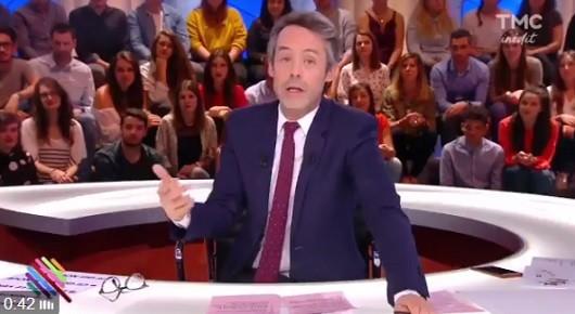 Yann Barthès dans Quotidien