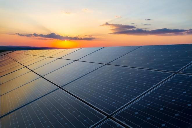 Des panneaux solaires classiques