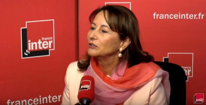 Segolène Royal sur France Inter le 22 décembre 2016