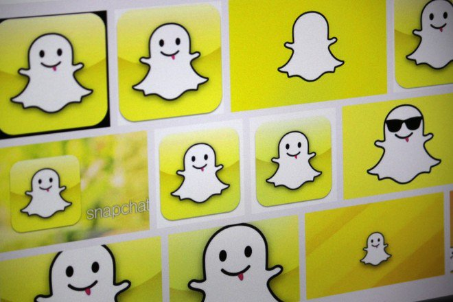 L'application Snapchat