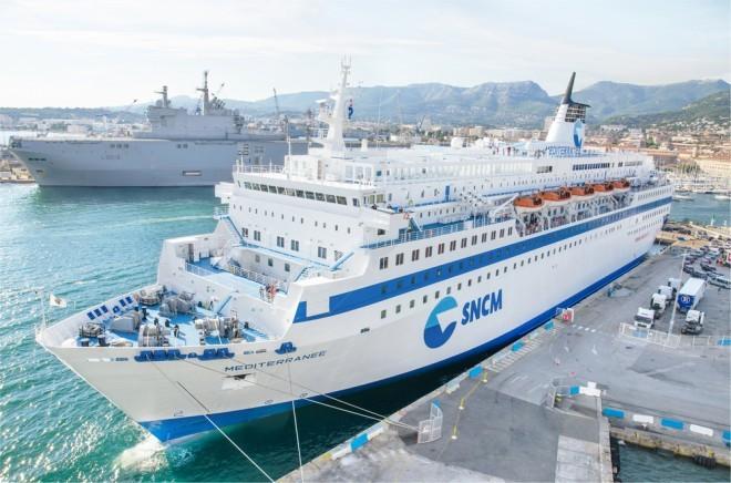 Un navire de la SNCM