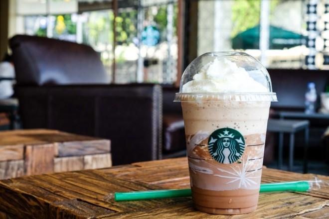 Image d'illustration, un café Starbucks